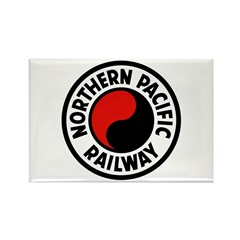 Northern Pacific Rectangle Magnet (10 pack)