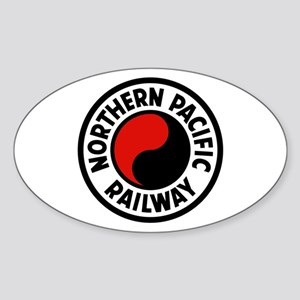 Northern Pacific Oval Sticker
