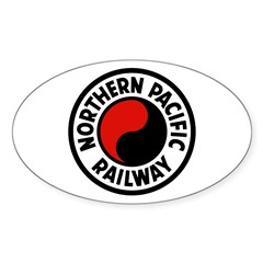 Northern Pacific Oval Decal