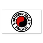 Northern Pacific Rectangle Sticker