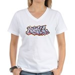 Humble 2009 Women's V-Neck T-Shirt