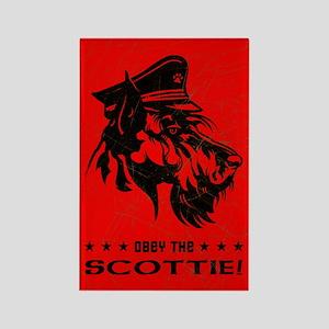 Scottish Terrier - Obey the Scottie! Magnet