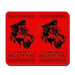 Obey the SCOTTIE! Scottish Terrier Mousepad
