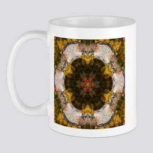 Redtail Hawk Mandala Mug