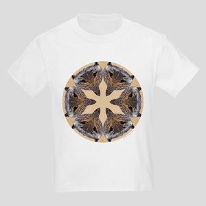Redtail Hawk Mandala Kids T-Shirt