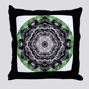 Raccoon Mandala Throw Pillow