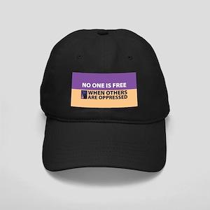 No One Is Free Black Cap