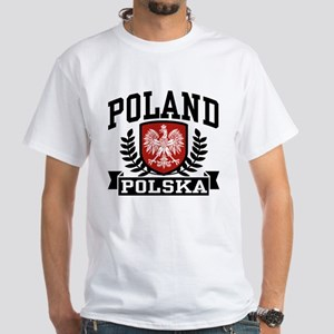 Poland Polska White T-Shirt