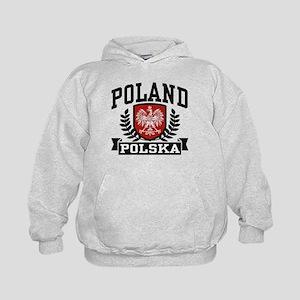 Poland Polska Kids Hoodie