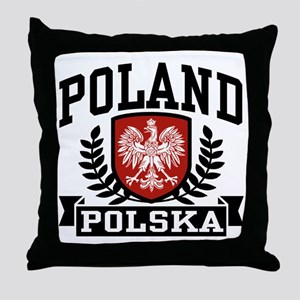 Poland Polska Throw Pillow
