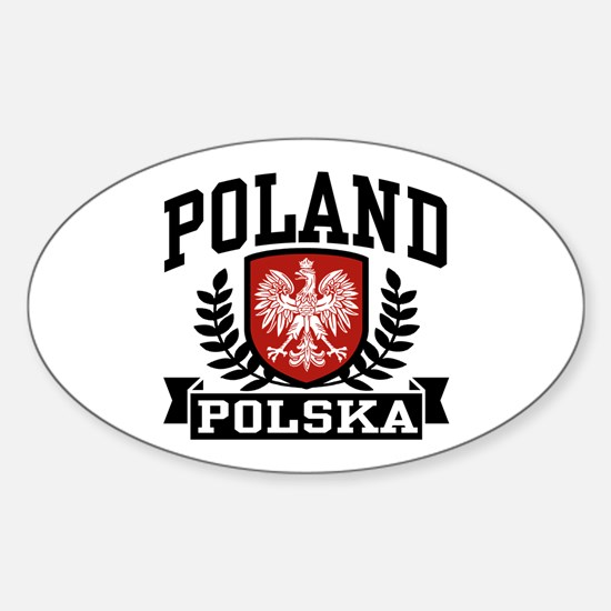 Poland Polska Oval Decal