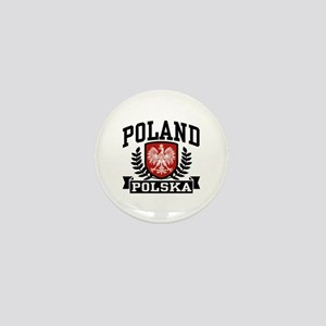 Poland Polska Mini Button