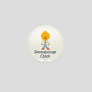 Dermatology Chick Mini Button