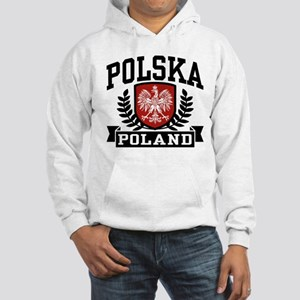 Polska Poland Hooded Sweatshirt
