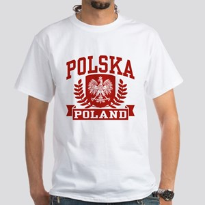 Polska Poland White T-Shirt