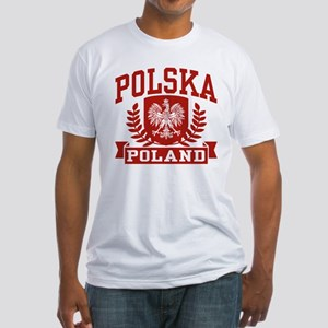 Polska Poland Fitted T-Shirt