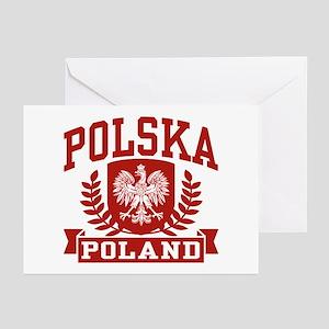 Polska Poland Greeting Cards (Pk of 10)