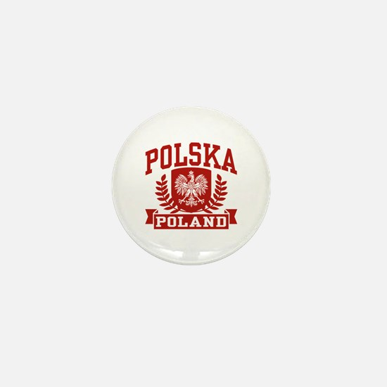 Polska Poland Mini Button