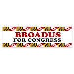 Broadus for Congress Bumper Sticker