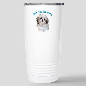 Shih Tzu Mommy Stainless Steel Travel Mug