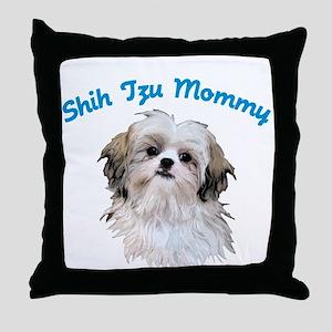 Shih Tzu Mommy Throw Pillow