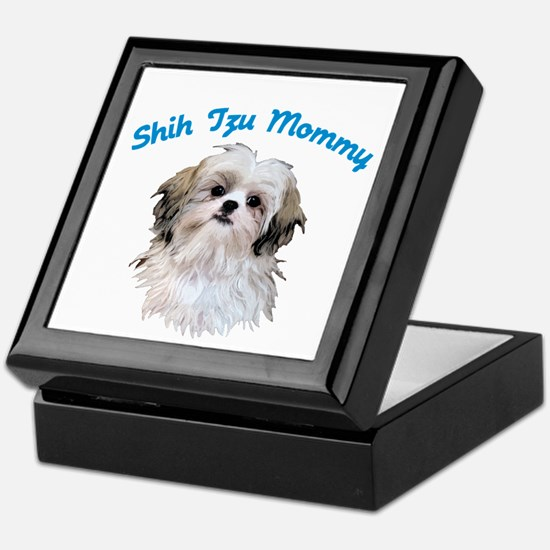 Shih Tzu Mommy Keepsake Box