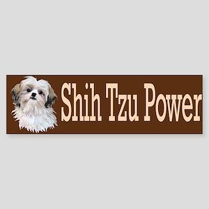 Shih Tzu Power Sticker (Bumper)