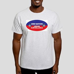 Under Surveillance Ash Grey T-Shirt