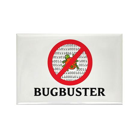 Bug Buster Rectangle Magnet (100 pack)