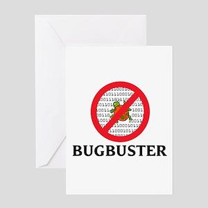 Bug Buster Greeting Card