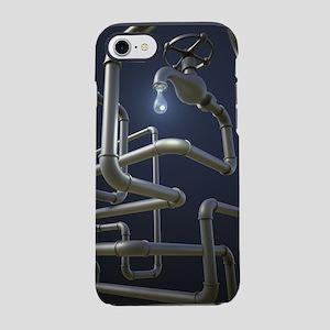 Water Pipeline Maze iPhone 7 Tough Case