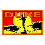 Duke Rectangle Sticker