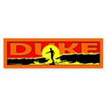 Duke Bumper Sticker