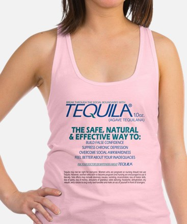 Tequila back Tank Top