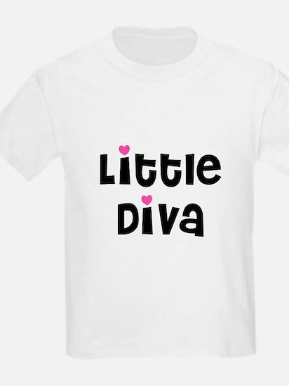 Little Diva Kids T-Shirt