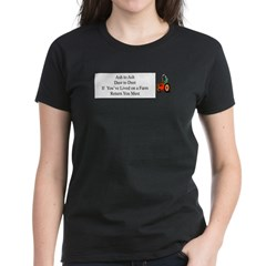 Return to the Farm Women's Dark T-Shirt