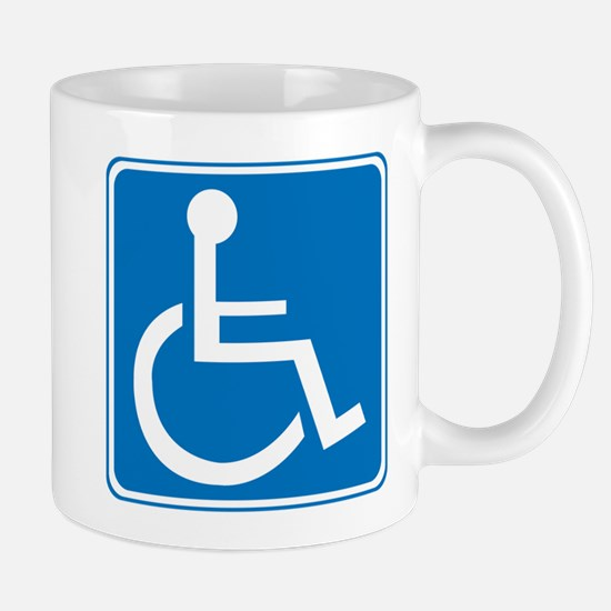 Handicapped Sign Mug