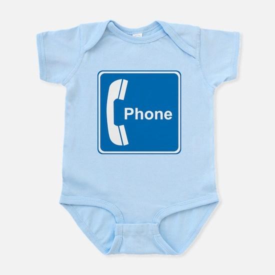Phone Sign Infant Bodysuit