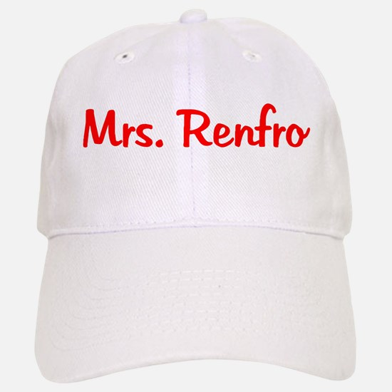 Mrs. Renfro Baseball Baseball Cap