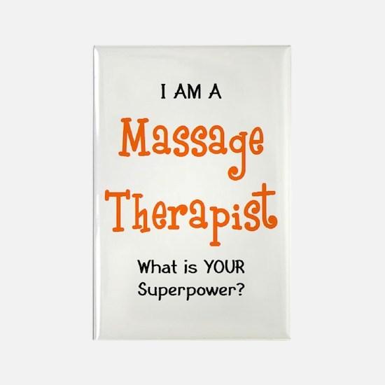 massage therapist Rectangle Magnet
