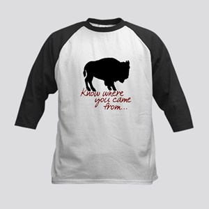 Know where you came from Kids Baseball Jersey