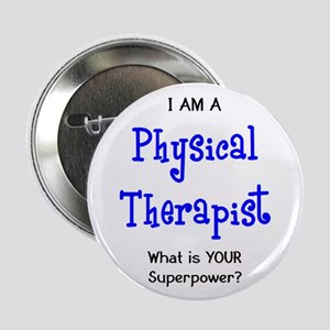 """physical therapist 2.25"""" Button"""