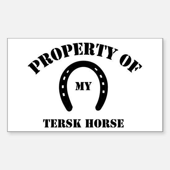 My Tersk Horses Rectangle Decal
