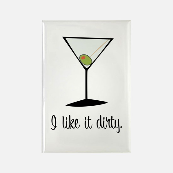 dirty martini Rectangle Magnet