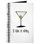 dirty martini Journal