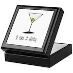 dirty martini Keepsake Box