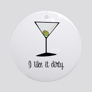 dirty martini Ornament (Round)