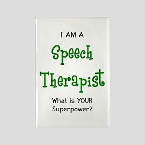 speech therapist Rectangle Magnet