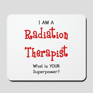 radiation therapist Mousepad