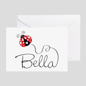 Ladybug Bella Greeting Cards (Pk of 20)